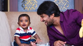 Actor Nani with Family Video