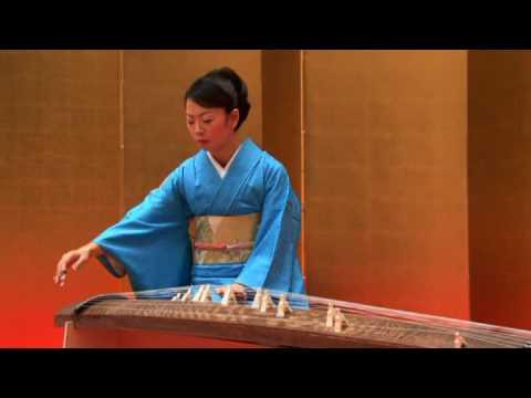 伝統音楽デジタルライブラリー 箏演奏 「水の変態」