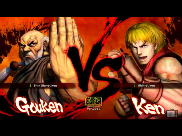 Luta na Live - Gouken VS Ken