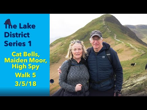 Lake District Walk5 Cat Bells, Maiden Moor And High Spy 03/05/18