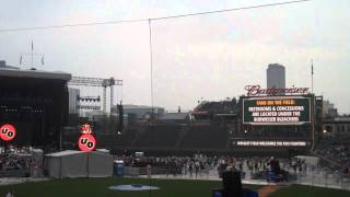Urge Overkill at Wrigley Field - 8/30/15 - Back On Me (7 secs)
