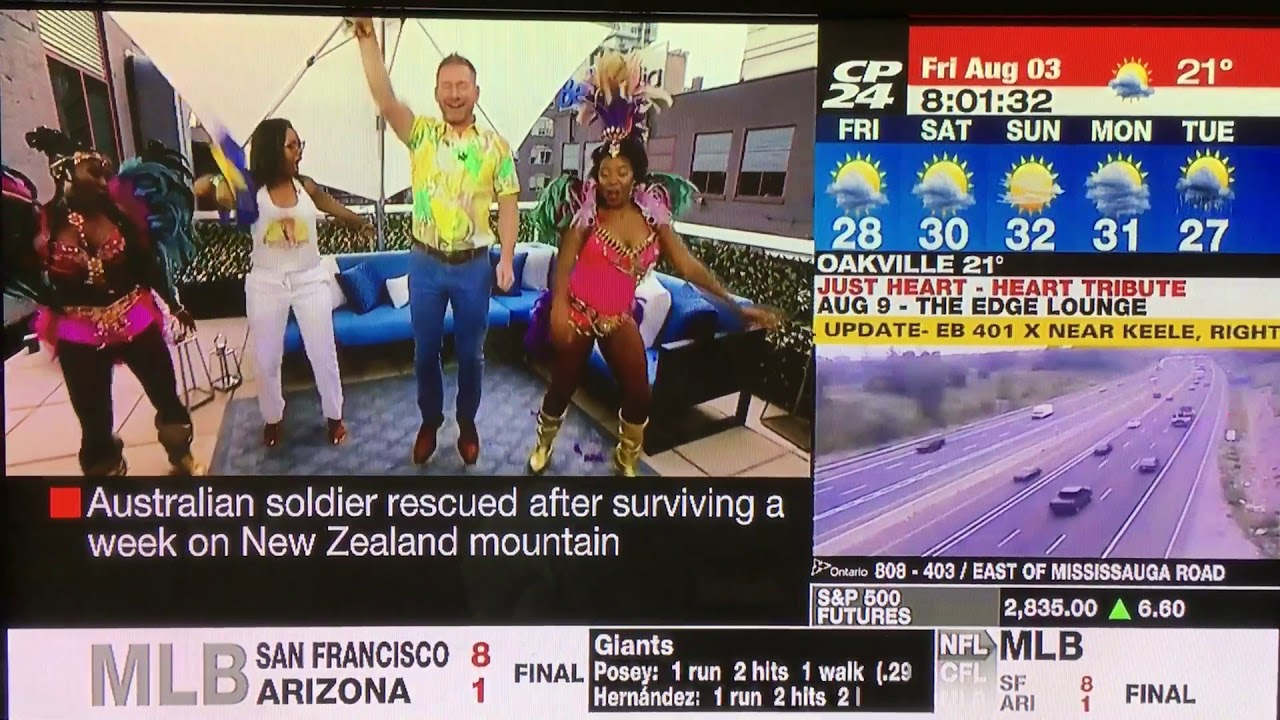Carnival Spice - CP24 Weather Report