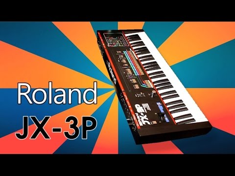 ROLAND JX-3P Analog Synthesizer 1983 | HD DEMO | NEW PATCHES
