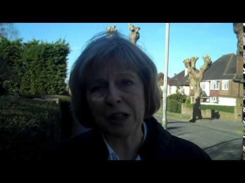 Home Secretary Theresa May explains why she backs Barwell