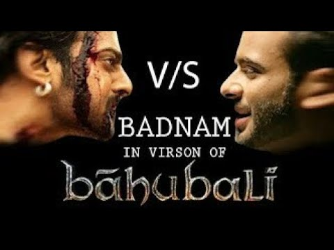 BADNAM - MANKRIT AULAKH || BAHUBALI – 2 VERSION || FULL HD VIDEO SONG || SS RECORDS