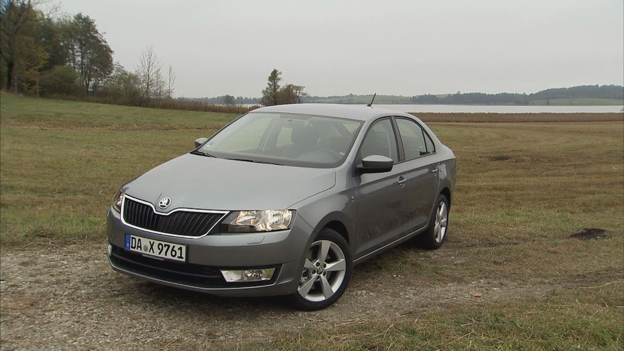 skoda rapid im test autotest 2012 adac youtube. Black Bedroom Furniture Sets. Home Design Ideas