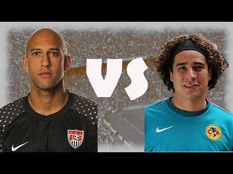 Tim Howard vs Ochoa/Best Saves/Puma Ball/HD
