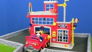 Micky Maus Wunderhaus Unboxing: Disney Feuerwehrstation & Feuerwehrmann für Kinder deutsch