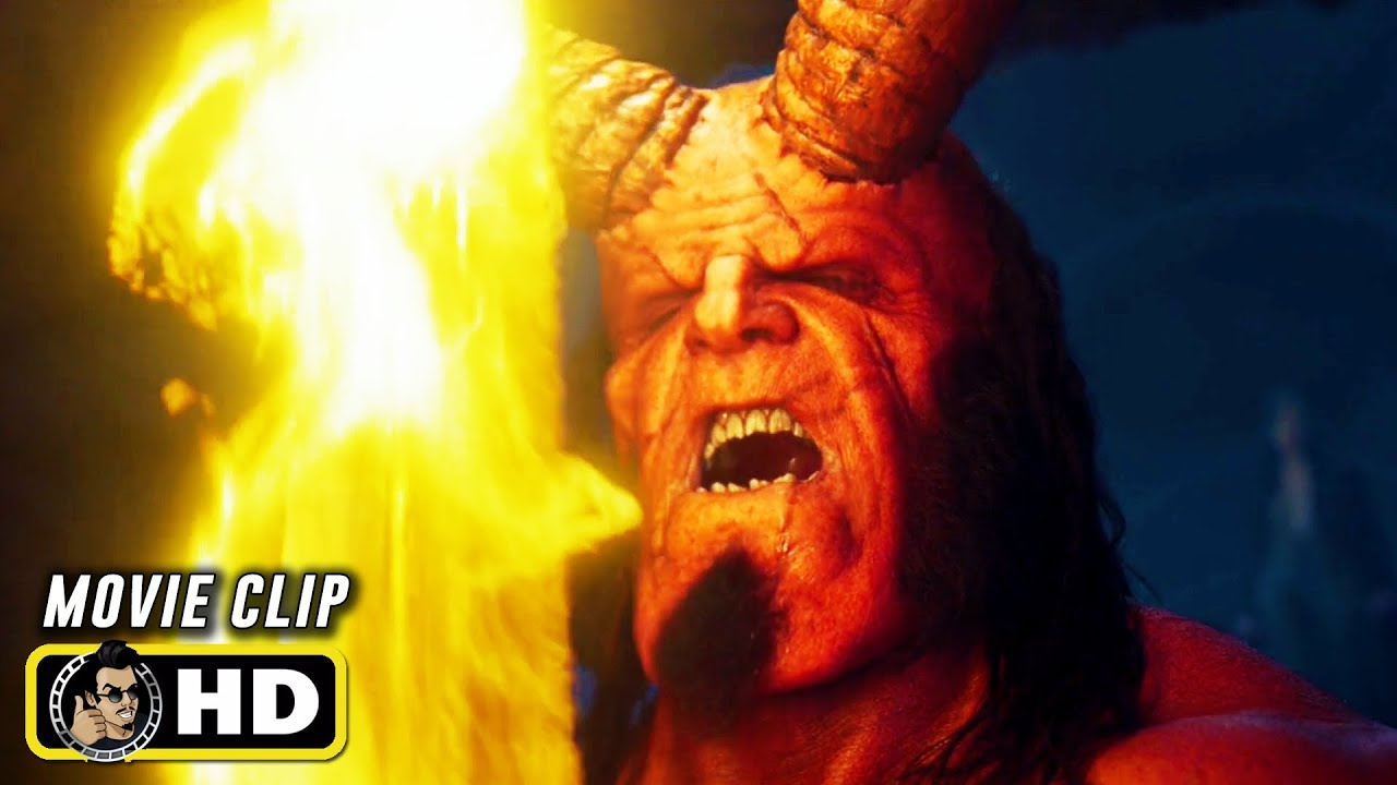 """Download HELLBOY Clip - """"Hellboy Pulls Out The Excalibur"""" (2019)"""