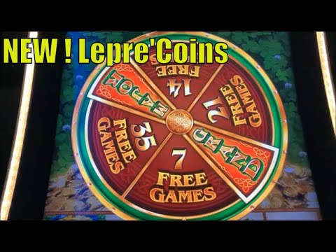 ★BIG WIN ! NEW LEPRE'COINS ! ★WILD LEPRE'COINS GOLD RESERVE Slot $135.00 Free Play Live☆彡栗スロ