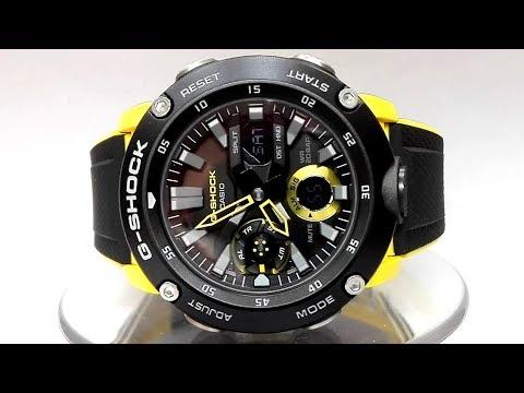 9d2d1a8b62ad00 Casio G-SHOCK GA-2000-1A9 Carbon core guard watch 2019 - YouTube