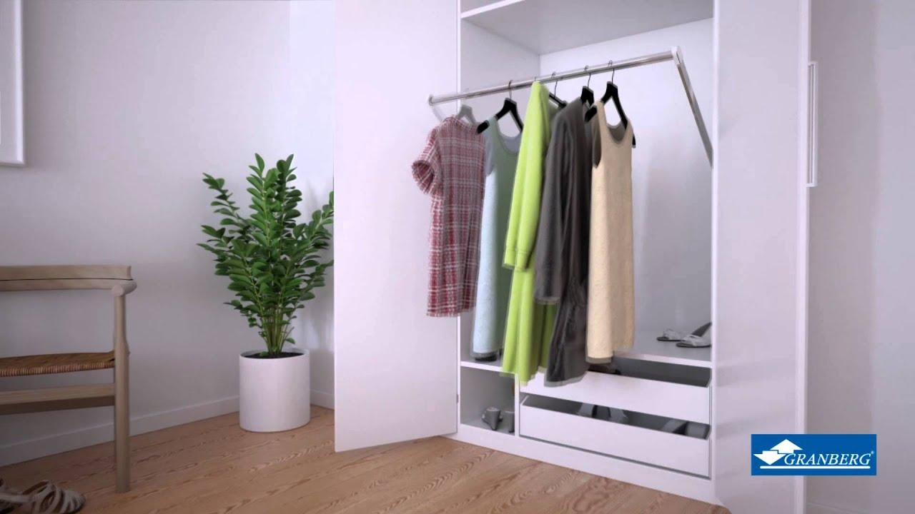Granberg Butler Electric Wardrobe Lift   YouTube