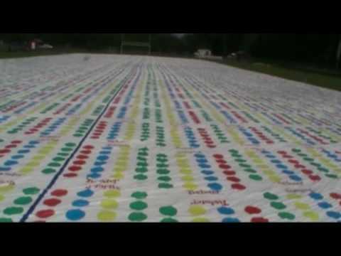 World's Largest Twister Mat: Belchertown Massachusetts June 18, 2010