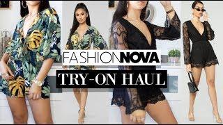 TRY-ON HAUL FashionNova ( JE DONNE MON HONNETE OPINION )