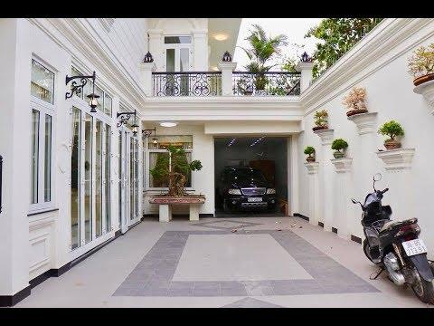 Biệt Thự Khủng 10m x 20m 1 lầu tại Gò Vấp thiết kế đẹp sân rộng rãi tặng nội thất toàn gỗ quý