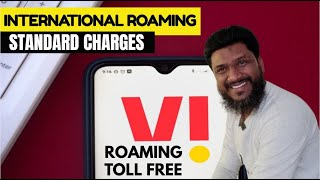 VI International Roaming Standard Charges 99Rs   VI International Roaming Activation   Vodafone Idea