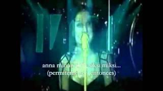 nightwish - kuolema tekee taiteilijan ( karaoke)