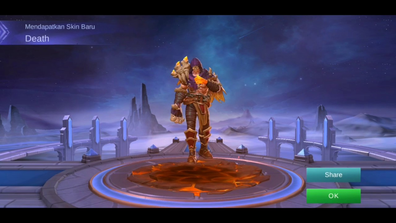 New Skin Elite Aldous Death  Mobile Legend Bang Bang - YouTube