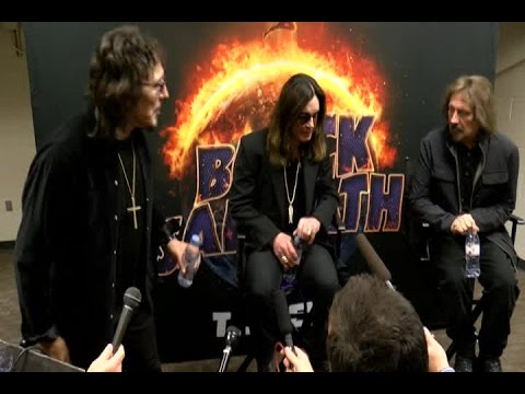 EXTENDED INTERVIEW: Black Sabbath members speak before Omaha show