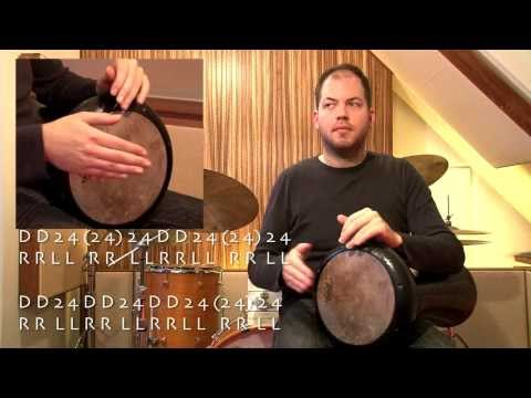Darbuka Rhythm - Indian Shuffle!!