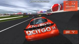 NASCAR Revolution PC Race #31 Gameplay (Michael Waltrip) (Atlanta) (9 Laps)