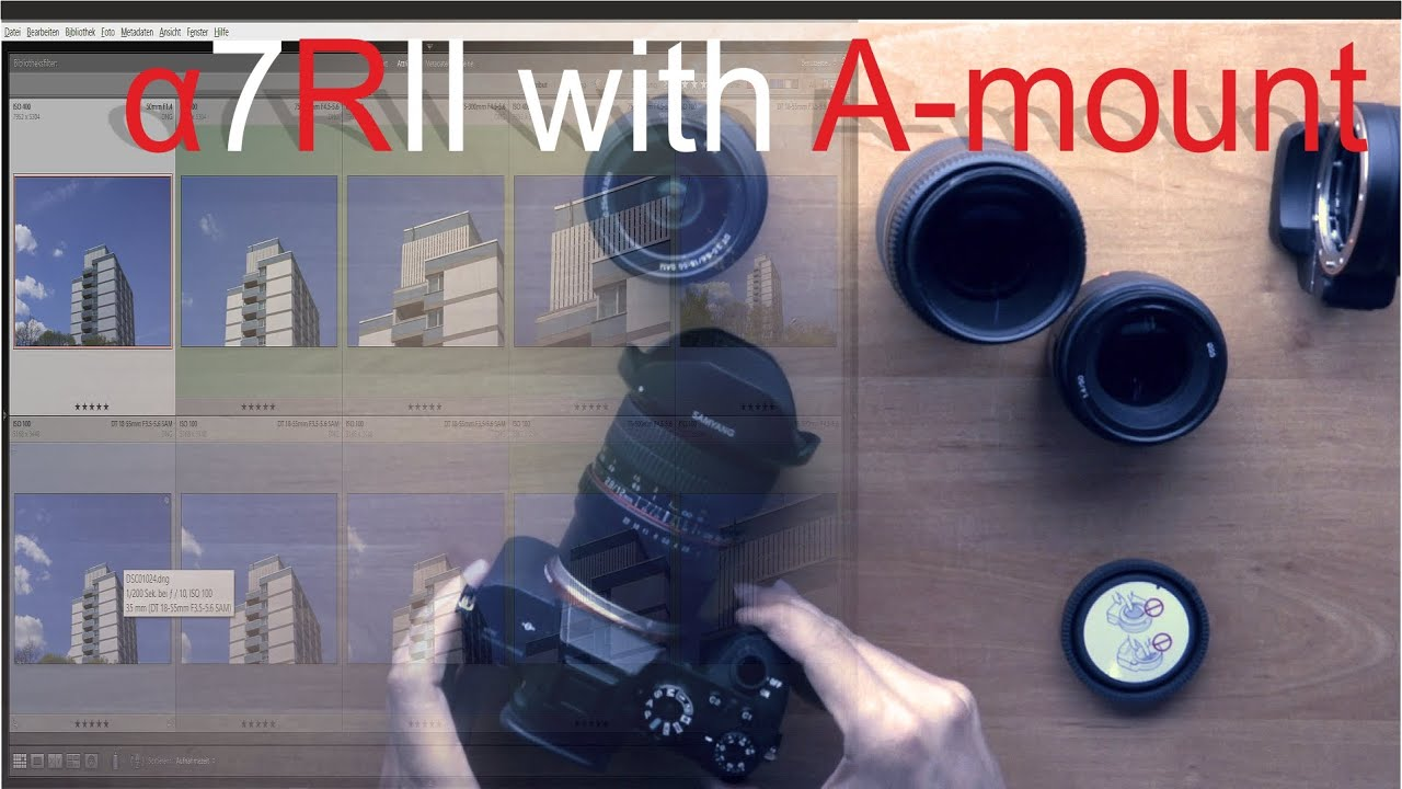 Sony 50mm 1.8 SAM prime lens sample photos images pictures - YouTube