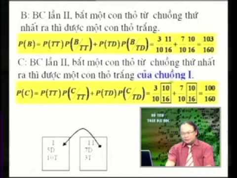 Bài giảng xác xuất đầy đủ & công thức bayes P2  Môn Xác suất thống kê  KTQD