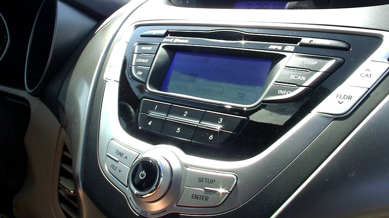 How To Sync Bluetooth Phone 2012 Hyundai Elantra Bob