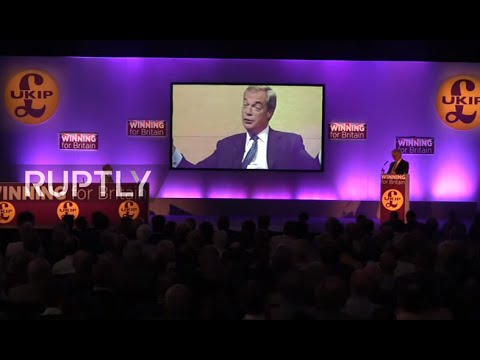 LIVE: Farage to speak at UKIP party conference