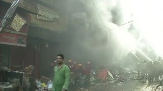 Bagri market of Kolkata gutted in fire; no injuries reported so far in the incident