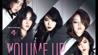 4Minute-Volume Up (English Lyrics)