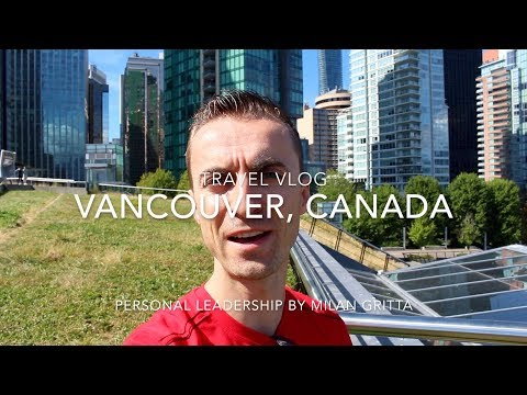 Cambridge, UK to Vancouver, Canada - Travel Vlog (ACL 2017)