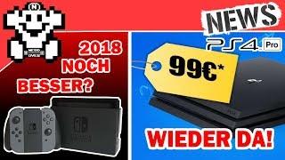 Switch Lineup soll 2018 noch stärker werden? |  PS4 Pro wieder für 99€ verfügbar! - NerdNews #193