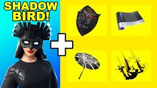 Shadow Rising Pack Best Combos *ALL* in ONE video! | Fortnite Season 9