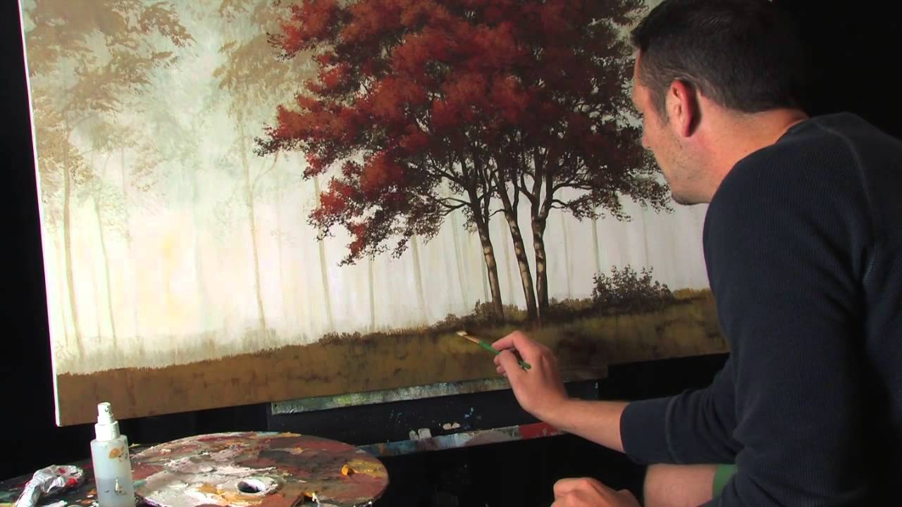 Acrylic Painting Lessons Tips And Tricks Layers By Tim Gagnon