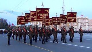 Репетиция парада в честь 70-летия Победы в Великой Отечественной войне