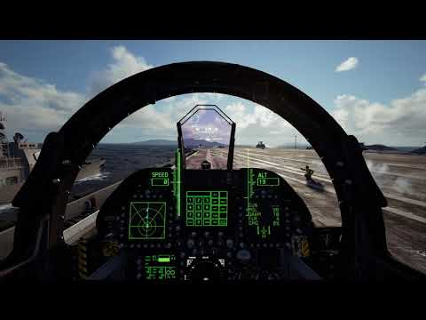 ACE COMBAT 7: SKIES UNKNOWN - PS VR gameplay   PS4
