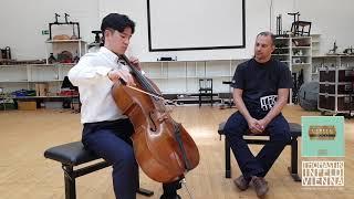 Sol Daniel Kim Test the New Versum Solo Cello Strings