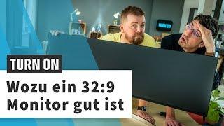 Zwei PCs an einem 32:9-Monitor? - LG 49WL95C-W