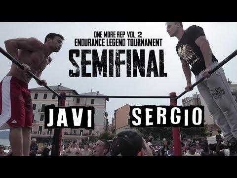 Legendary Semifinal - Sergio Di Pasquale VS Javi Robles - One More Rep Vol. 2
