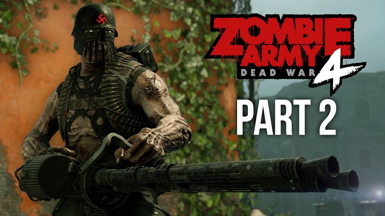 ZOMBIE ARMY 4 DEAD WAR Gameplay soluce, partie 2 - DEATH CANAL (Jeu complet) + vidéo