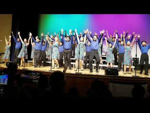 Mayfair High School Show Choir - Showtime.  Sneak preview 2019.  Don't stop need now by Queen