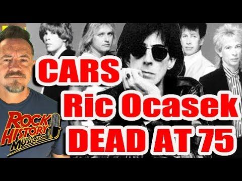Cars Frontman Ric Ocasek Dead at 75