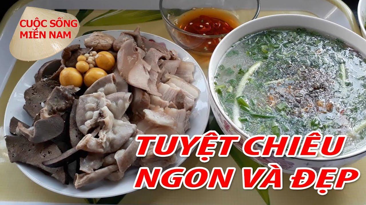 Cách làm món CHÁO LÒNG GẠO RANG cực ngon | Nam Việt 631 – , du lịch miền tây