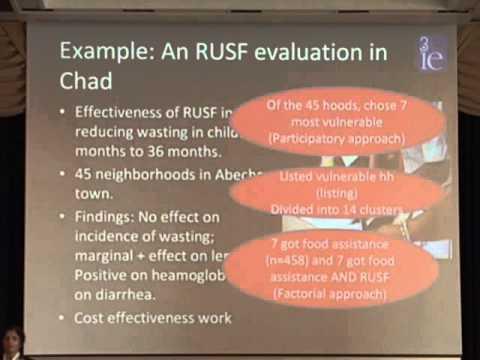 2014 EPE - Session 4: Impact Evaluation - Jyotsna Puri