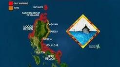 24 Oras: Bagyong ramon, magla-landfall sa lunes sa cagayan, base sa forecast track ng pagasa