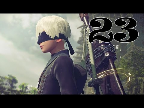 NieR:Automata Part 23 -relics searching in desert-
