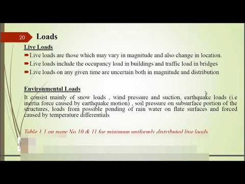 Types of loads on structure...Civil Graduate