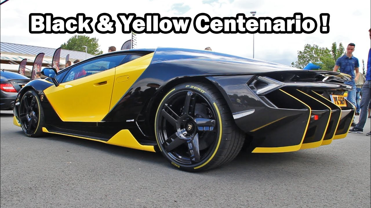 2 6 Million Lamborghini Centenario Start Up Loud Revs