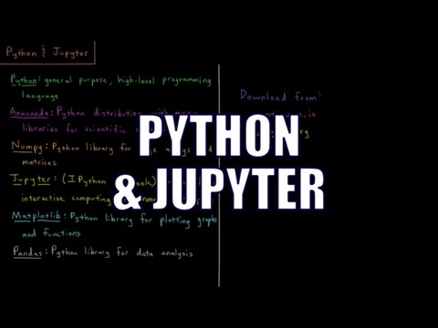 Computational Chemistry 1.5 - Python and Jupyter